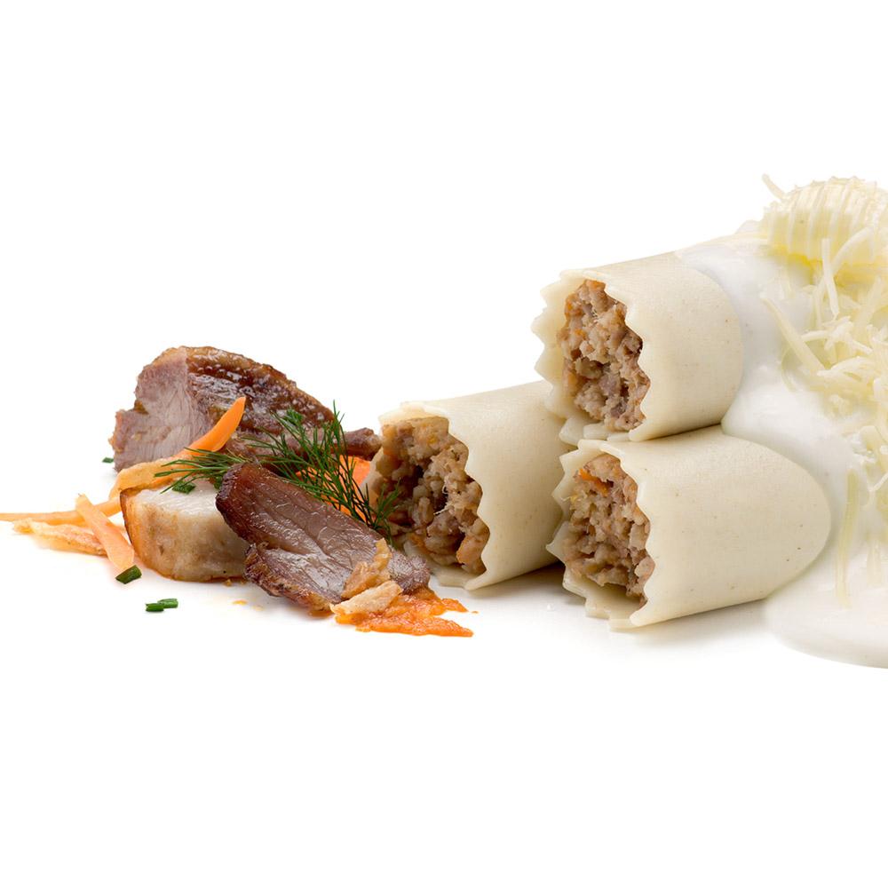 La Botiga dels canelons Crossandra - Canelons tradicionals de carn amb beixamel sense gluten
