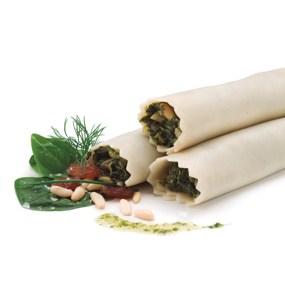 La Botiga dels canelons Crossandra - Canelons d'espinacs i mozzarella